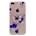 저렴한 아이폰 케이스-케이스 제품 Apple iPhone 7 Plus iPhone 7 투명 패턴 뒷면 커버 소프트 용 iPhone 7 Plus iPhone 7 iPhone 6s Plus iPhone 6s iPhone 6 Plus iPhone 6 iPhone SE/5s
