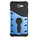 cheap Galaxy J Series Cases / Covers-Case For Samsung Galaxy J7 Prime / J5 Prime Shockproof / with Stand Back Cover Solid Colored Hard PC for J7 Prime / J7 (2016) / J5 Prime