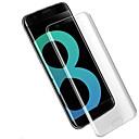 abordables Protections Ecran pour iPhone XR-Protecteur d'écran pour Samsung Galaxy S8 Plus TPU 1 pièce Ecran de Protection Avant Haute Définition (HD) / Coin Arrondi 2.5D / Antidéflagrant