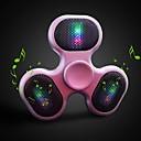 baratos Hubs USB-Spinner Speaker Exterior / Plástico / Mini Luz LED Roxo / Carmesim / Azul