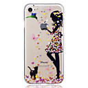 cheap Vehicle Consoles & Organizers-Case For Apple iPhone 7 / iPhone 7 Plus Pattern Back Cover Cat / Sexy Lady Soft TPU for iPhone 7 Plus / iPhone 7 / iPhone 6s Plus