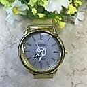 זול שעוני נשים-בגדי ריקוד גברים שעון יד קווארץ זהב 30 m שעונים יום יומיים אנלוגי יום יומי אופנתי אלגנטית - כחול אורנג ' / שחור זהב / אדום