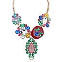 Buy Women's Choker Necklaces Pendant Chain Imitation Diamond Jewelry Acrylic Rhinestone ChromeBasic Unique Design Logo