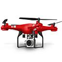 RC Dron SHR/C HR SH5 4 Canales 6 Ejes 2.4G Con Cámara 720P HD Quadccótero de radiocontrol  FPV Luces LED Retorno Con Un Botón Modo De