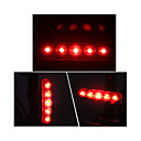 hesapli Bisiklet Işıkları-Bisiklet Arka Işığı LED Bisiklet Dış Mekan AAA Lümen Batarya Kırmızı Bisiklete biniciliği