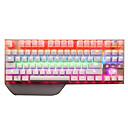 رخيصةأون أدوات & أجهزة المطبخ-SADES Tianjing USB سلكي لوحة المفاتيح الميكانيكية لوحة مفاتيح الألعاب قابل للبرمجة مضيء RGB الخلفية 87 pcs مفاتيح