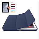 cheap iPad  Cases / Covers-Case For Apple iPad Mini 4 iPad Mini 3/2/1 iPad 4/3/2 iPad Air 2 iPad Air Magnetic Auto Sleep/Wake Up Full Body Cases Solid Color Hard PU