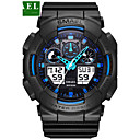 cheap Earrings-Men's Sport Watch Military Watch Smartwatch Quartz Digital 30 m Water Resistant / Water Proof Alarm Calendar / date / day Silicone Band Analog-Digital Charm Vintage Casual Multi-Colored - Gray Green