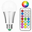 hesapli Röleler-1pc 10 W 800 lm E26 / E27 LED Akıllı Ampuller A60(A19) 1 LED Boncuklar Entegre LED Kısılabilir / Uzaktan Kumandalı / Dekorotif RGBW / RGBWW 85-265 V / 1 parça / RoHs