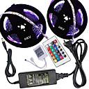 voordelige Flexibele LED-verlichtingsstrips-HKV 10M Verlichtingssets 300 LEDs 5050 SMD RGB 100-240 V