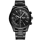 ieftine Accesorii LED-Bărbați Ceas de Mână Quartz Negru Analog Clasic Casual Modă Ceas Elegant - Negru Argintiu Rosu