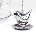 hesapli Çay Takımları-Paslanmaz Çelik Manual 1pc Çay Süzgeci / Hediye / Günlük