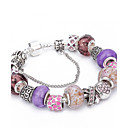cheap Rings-Women's Crystal Beaded Charm Bracelet Strand Bracelet - Crystal, Rhinestone Friends, Heart, Flower Luxury, Natural, Fashion Bracelet Purple For Christmas Gifts Wedding Party