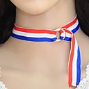 billige Perle Halskæde-Dame Kort halskæde Damer Mode Euro-Amerikansk Stof Legering Hvid Halskæder Smykker Til Fest Daglig