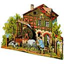 voordelige 3D Puzzels-3D-puzzels Papierkunst Beroemd gebouw DHZ Hard Kaart Paper Klassiek Kinderen Unisex Geschenk