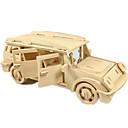رخيصةأون 3D الألغاز-لعبة سيارات قطع تركيب3D تركيب طيارة سيارة اصنع بنفسك خشبي كلاسيكي SUV للجنسين للصبيان ألعاب هدية