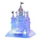 رخيصةأون كاميرات المراقبة IP-قطع تركيب3D تركيب تركيب كريستال كلاب برج حصان البلاستيك الحديد للجنسين للصبيان للفتيات ألعاب هدية