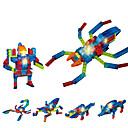 Недорогие Светодиодные драйверы-LED освещение Конструкторы Конструкторы Игрушки Насекомое SPIDER совместимый Legoing Cool Универсальные Мальчики Девочки Игрушки Подарок / Хрусталь / Обучающая игрушка