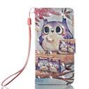 ieftine Carcase/Huse iPod-Maska Pentru iTouch 5/6 Portofel Titluar Card Cu Stand Întoarce Model Carcasă Telefon PU piele Greu