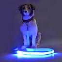 hesapli Fırın Araçları ve Gereçleri-Köpek Tasma Kayışı Yanıp Sönen / Güvenlik Solid Terylene Yeşil / Mavi / Pembe