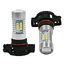 preiswerte LED Autobirnen-2pcs H16 Auto Leuchtbirnen 60W LED High Performance 800lm Scheinwerfer Scheinwerfer