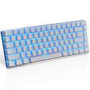 cheap Mouse Keyboard Combo-AJAZZ AK33 USB Wired Mechanical Keyboard Gaming Keyboard Gaming Luminous Monochromatic Backlit 82 pcs Keys