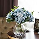 tanie Dekoracyjne naklejki-Sztuczne Kwiaty 1 Gałąź Retro Rośliny Bukiety na stół
