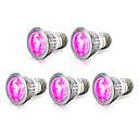 hesapli LEDler-5pcs 4W 165-190lm E14 GU10 E27 Büyüyen ampul 10 LED Boncuklar SMD 5730 Mavi Kırmızı 85-265V