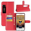 ieftine Carcase / Huse Galaxy Note Series-Maska Pentru Meizu Titluar Card Portofel Cu Stand Întoarce Carcasă Telefon Culoare solidă Greu PU piele pentru Meizu Pro 7 Meizu Pro 7