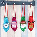 hesapli Fırın Araçları ve Gereçleri-Tatil Süslemeleri Kardan Adam / Santa / Tatil Depolama / Saklama Çantası / Saç Süsleri Tatil 1pc / Vánoce