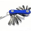 رخيصةأون أغطية أيفون-Keychain Favors الادوات الأخرى حمالات المفاتيح تصميم خاص مع سلسلة المفاتيح سهولة التثبيت معدن التنغستن ABS Camping / Hiking / Caving Everyday Use أسود أحمر أزرق داكن 1 pcs