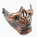 preiswerte Make-up & Nagelpflege-schädel skeleton airsoft paintball halbe gesicht schutzausrüstung maske schutz halloween maskerade cosplay party kostüm prop