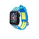hesapli iPhone Kılıfları-Watch Band için Apple Watch Series 3 / 2 / 1 Apple Spor Bantları Modern Toka Silikon Bilek Askısı