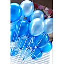 ieftine Ornamente de Petrecere-20 buc / set baloane de aer latex 10 inch balon circular colorat gonflabil