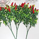 ieftine Brățări-Flori artificiale 3 ramură Pastoral Stil Plante Față de masă flori
