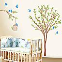 hesapli Duvar dekorasyonu-Dekoratif Duvar Çıkartmaları - Uçak Duvar Çıkartmaları Moda / Botanik Yatakodası / İç Mekan / Çocuk Odası