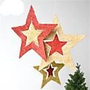 ieftine Becuri LED Glob-Decoratiuni de vacanta Crăciun Ornamente de crăciun Auriu / Rosu 1 buc