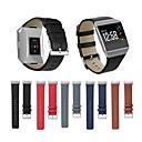 رخيصةأون أساور ساعات FitBit-حزام إلى Fitbit ionic فيتبيت بكلة كلاسيكية جلد طبيعي شريط المعصم