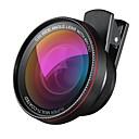 hesapli Akıllı Telefon Fotoğrafçılık-1 inç profesyonel HD kamera lens kiti 2 adet 0,6x süper geniş açılı lens 10x makro lensli iphone samsung için üniversal klipsli cep