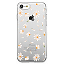 cheap iPhone Cases-Case For Apple iPhone X iPhone 8 Pattern Back Cover Tile Flower Soft TPU for iPhone X iPhone 8 iPhone 7 Plus iPhone 7 iPhone 6s Plus