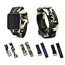 Недорогие Ремешки для Apple Watch-Ремешок для часов для Apple Watch Series 4/3/2/1 Apple Классическая застежка Материал Повязка на запястье