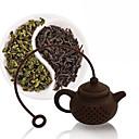 abordables Accessoires à Thé-théière infuseur de thé sachet à thé en silicone passoire à café réutilisable