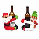 cheap Home Decoration-Holiday Decorations Animals / Snowmen / Santa Christmas Ornaments Holiday 1 / 2 1pc