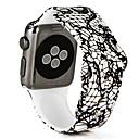 hesapli iPad Klavyeleri-Watch Band için Apple Watch Series 3 / 2 / 1 Apple Spor Bantları Silikon Bilek Askısı