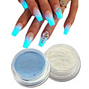 abordables Maquillage & Soin des Ongles-2pcs Poudre acrylique / Nail Glitter Brille & Scintille / Lumineux Nail Art Design