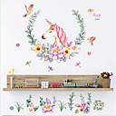 hesapli Duvar Sanatı-Hayvanlar Duvar Etiketler Uçak Duvar Çıkartmaları Dekoratif Duvar Çıkartmaları, Vinil Ev dekorasyonu Duvar Çıkartması Duvar