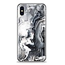 cheap iPhone Cases-Case For Apple iPhone X / iPhone 8 Plus Pattern Back Cover Marble Soft TPU for iPhone X / iPhone 8 Plus / iPhone 8