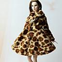 preiswerte Barbie Kleidung-Freizeit Mehre Accessoires Für Barbie-Puppe Polar-Fleece Top Für Mädchen Puppe Spielzeug