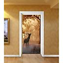 رخيصةأون ملصقات ديكور-حيوانات كريستمس النباتية ملصقات الحائط الغطاء لواصق حائط الطائرة لواصق لواصق حائط مزخرفة لواصق الزفاف, ورقة الفينيل تصميم ديكور المنزل