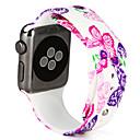 رخيصةأون حافظات / جرابات هواتف جالكسي A-حزام إلى Apple Watch Series 3 / 2 / 1 Apple عصابة الرياضة سيليكون شريط المعصم
